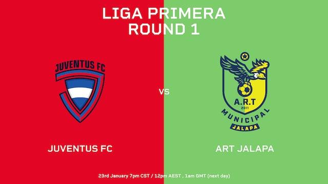 ESP | Liga Primera R1: Juventus FC vs ART Jalapa