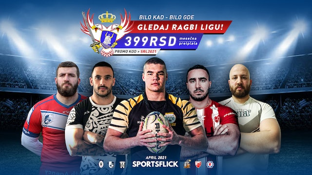 Serbian Rugby League 2021 April
