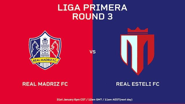 Liga Primera R3: Real Madriz FC vs Real Estelí FC