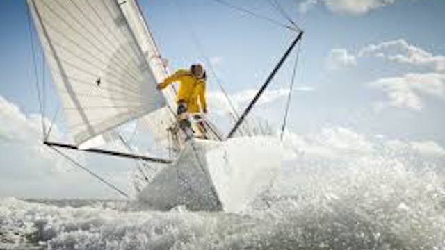 Robin-Knox Johnston sailing legend