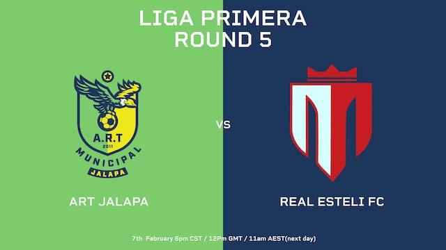ESP   ART Jalapa vs Real Estelí FC   Round 5 - Part 2