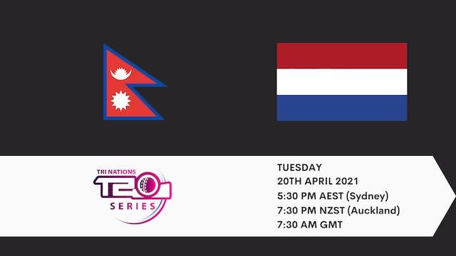 Nepal v Netherlands | T20 Game 4