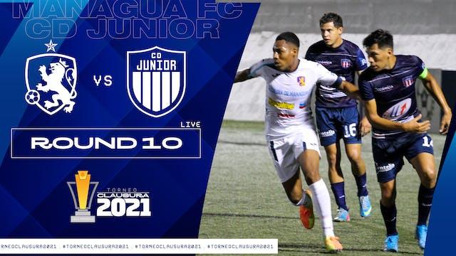 Liga Primera R10: Managua FC vs CD Jú...