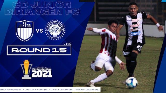 ESP | Liga Primera R15: CD Júnior vs ...