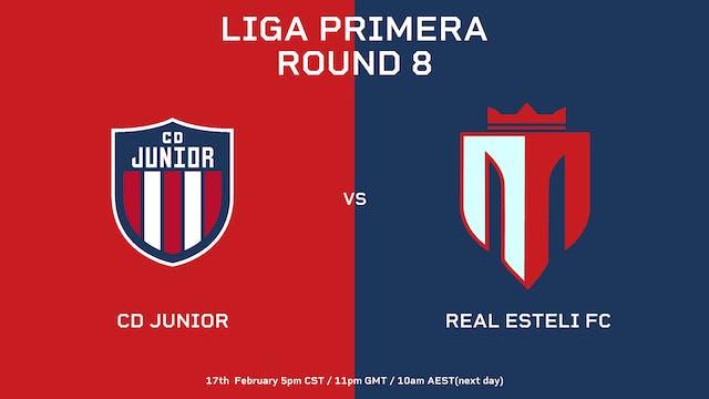 ESP |  CD Júnior vs Real Estelí FC | ...