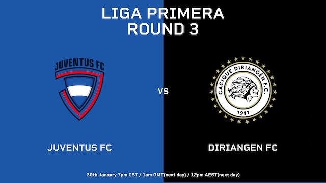 Liga Primera R3: Juventus FC vs Diriangén FC