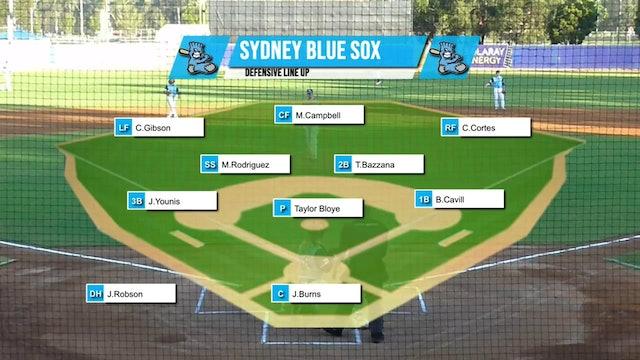 Melbourne Aces - Sydney Blue Sox Game 3