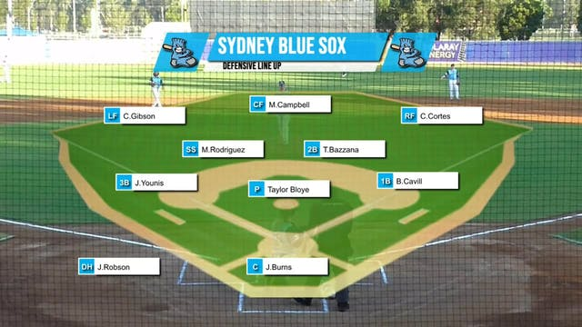 Melbourne Aces - Sydney Blue Sox Game 3
