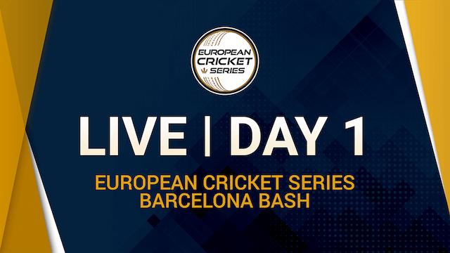 European Cricket Series - Barcelona Bash - Day 1