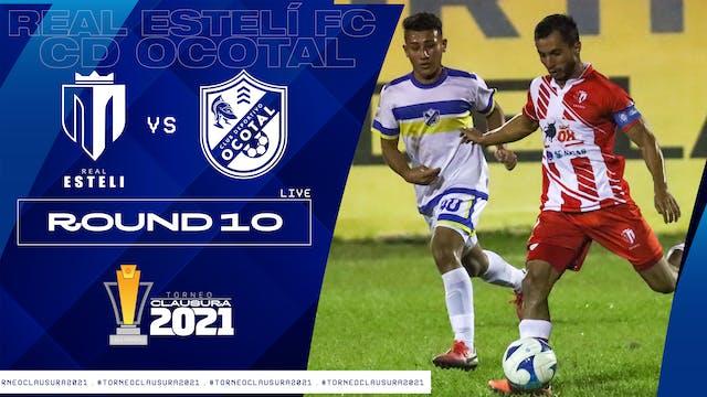 Real Estelí FC vs CD Ocotal | Round 10