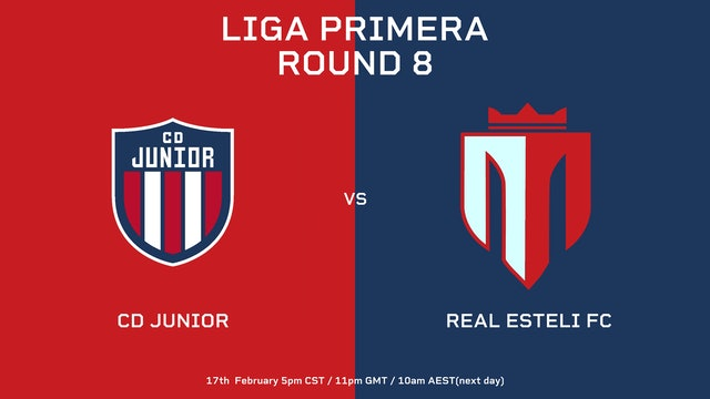 Liga Primera R8: CD Júnior vs Real Estelí FC