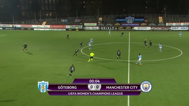 UWCL Goteborg - Manchester City