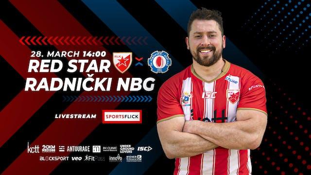Red Star Belgrade - Radnički New Belgrade