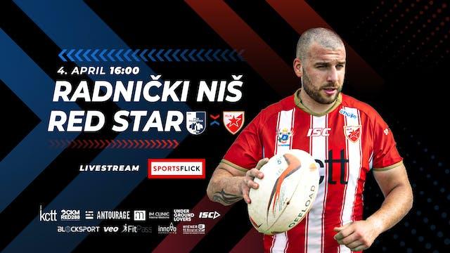 Radnički Niš - Red Star Round 3