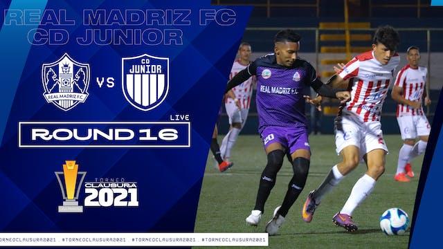 ESP | Liga Primera R16: Real Madriz F...