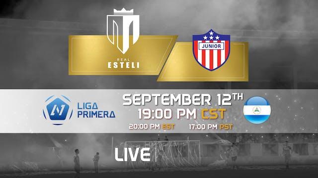 Real Esteli FC vs Junior Managua