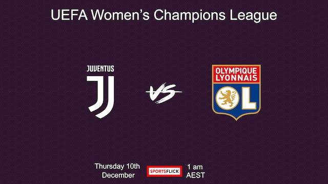 UWCL Juventus - Lyon