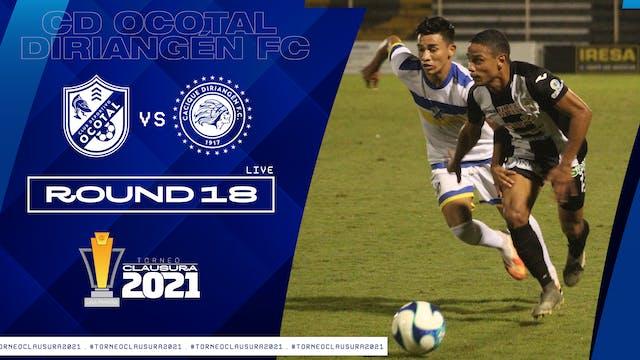 ESP | CD Ocotal vs Diriangen FC | Rou...