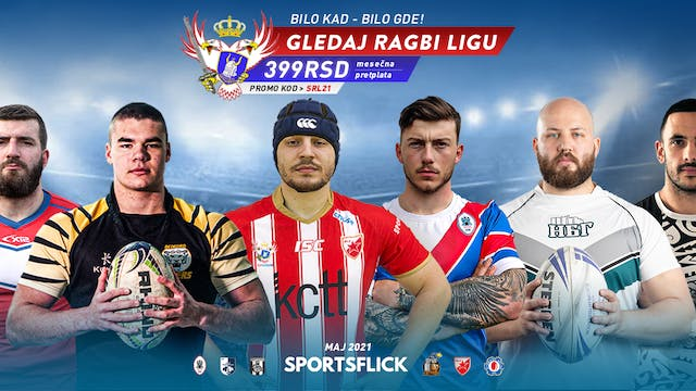 Serbian Rugby League 2021 May