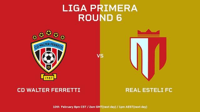 CD Walter Ferretti vs Real Estelí FC   Round 6