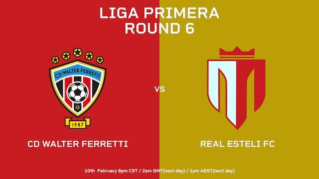 Liga Primera R6: CD Walter Ferretti v...