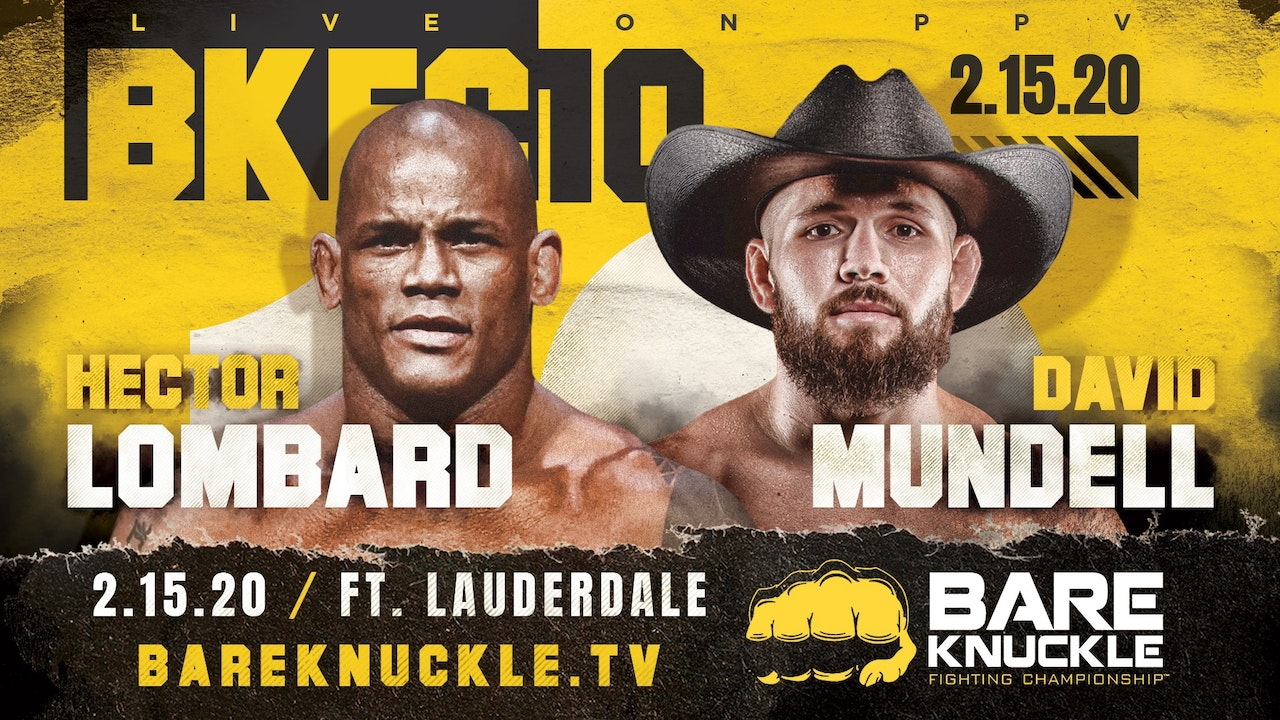Bare Knuckle Boxing (BKFC)