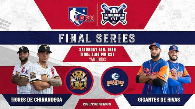 LBPN Finals - Tigres vs Gigantes - Ga...