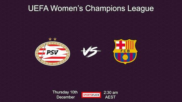 UWCL PSV - Barcelona