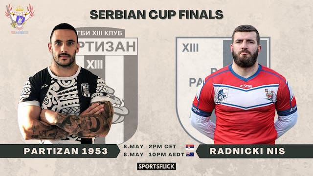Partizan 1953 - Radnički Niš | Cup Finals