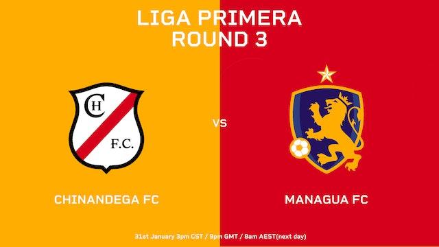 ESP | Liga Primera R3 Chinandega FC vs Managua FC