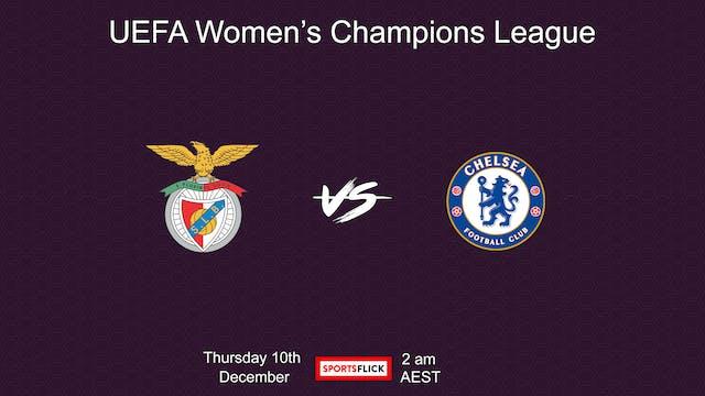 UWCL Benfica - Chelsea