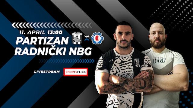Partizan 1953 - Radnički Novi Beograd