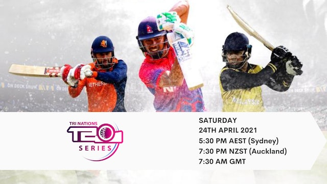 The Twenty20 Tri-Series Nepal Final