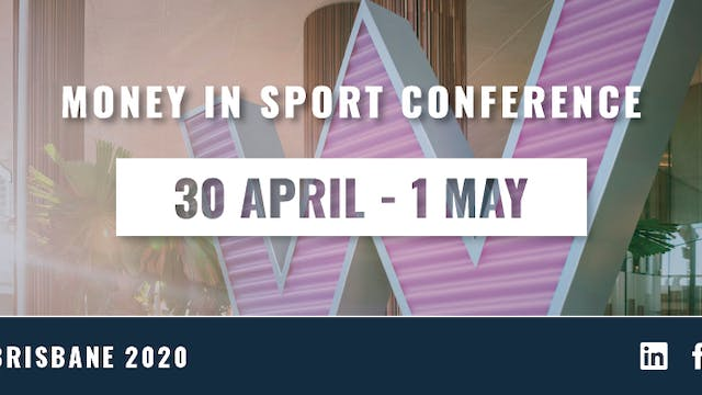 Money In Sport Conference Day 1