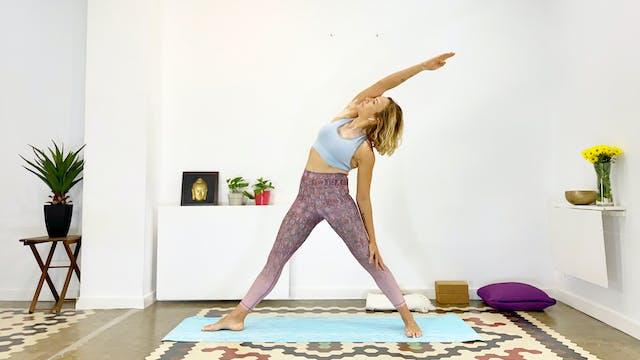 Mi. 7:00 Yoga Vinyasha: para principi...