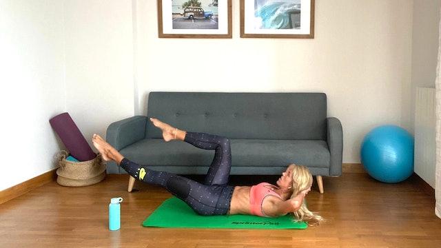 Clase de Pilates   50 min   Pilates con Elisa Riveres