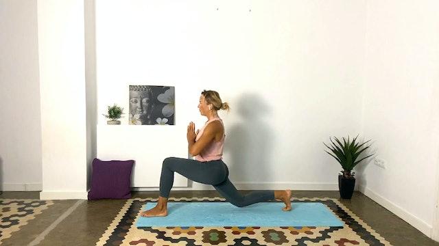 Clase de yoga | 60 min | Yoga en casa con Olga Bru
