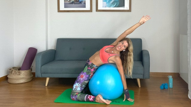 Ju. 10:00 Pilates en casa | 50 min | Pilates con Elisa Riveres
