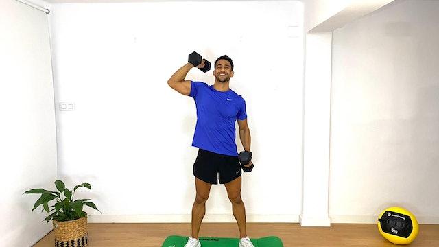 Full Body Training | 50 min | Entrena con Franco Valicenti