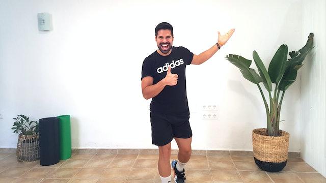 Mi. 9:00 Baile deportivo | 50 min | Muévete con Andrés Braganza