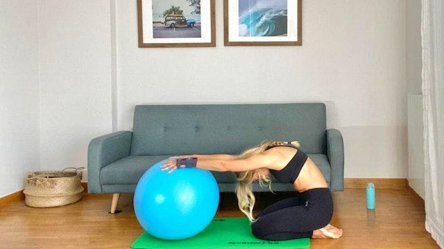 Pilates en casa | 50 min | Pilates con Elisa Riveres