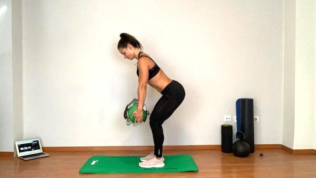 Training de brazos y espalda | 50 min | Con Estefanía Gutiérrez