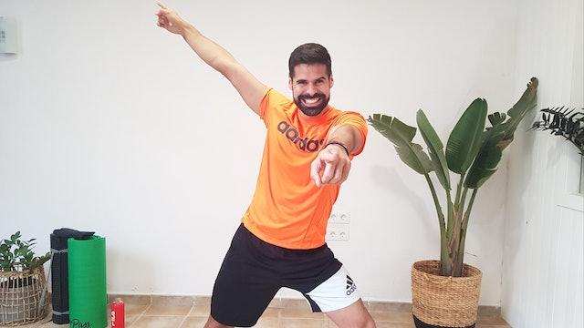 Ju. 10:00 Baile deportivo   50 min   Entrena con Andrés Braganza