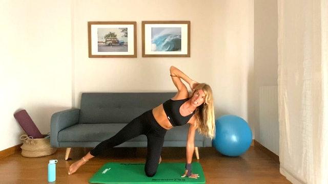 Clase de Pilates | 50 min | Entrena con Elisa Riveres