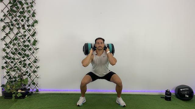 Ju. 18:00 Training: piernas y glúteos...