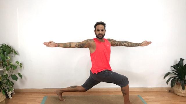 Virayoga en casa | 60 min | Yoga con Arjuna