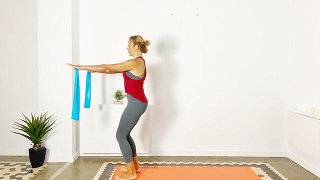 Pilates intenso | 50 min | Clase de pilates con Olga Bru