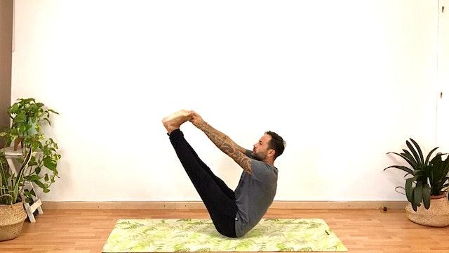 Vi. 8:00 Virayoga suave   60 min   Yoga con Arjuna