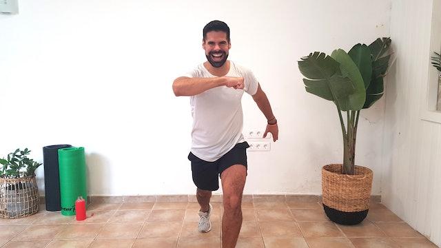 Baile deportivo | 50 min | Baila en casa con Andrés Braganza