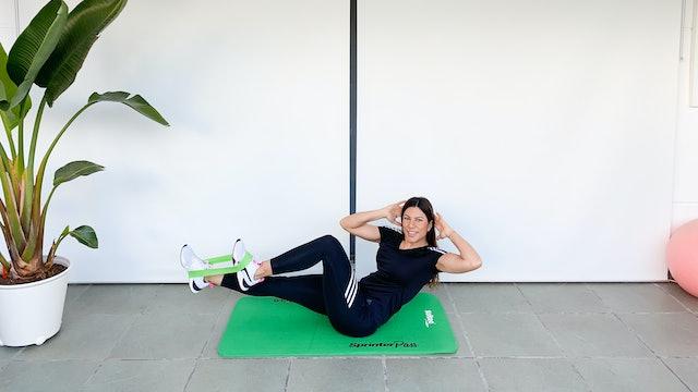 Fortalece tu abdomen | 15 min | Entrena con Mariatosh